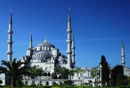Дворец в Турции